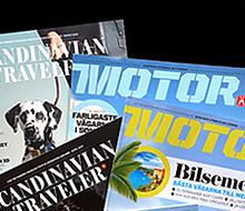 Tidningarna Motor och Scandinavian Traveler